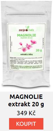 MAGNOLIE extrakt 80% fenolů 20 gramů
