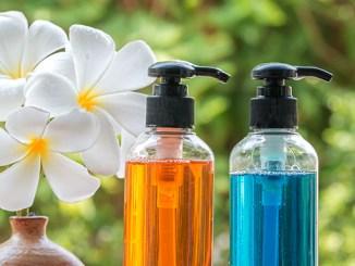 Přírodní šampony pro zdravé vlasy.