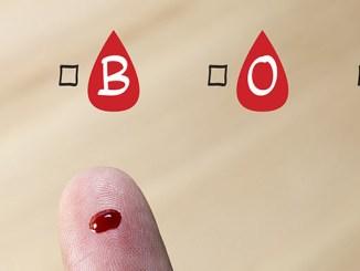 5 nemocí, jejichž riziko rozvoje závisí na krevní skupině.