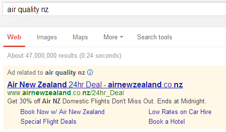 manage adwords to not get found for wrong searches