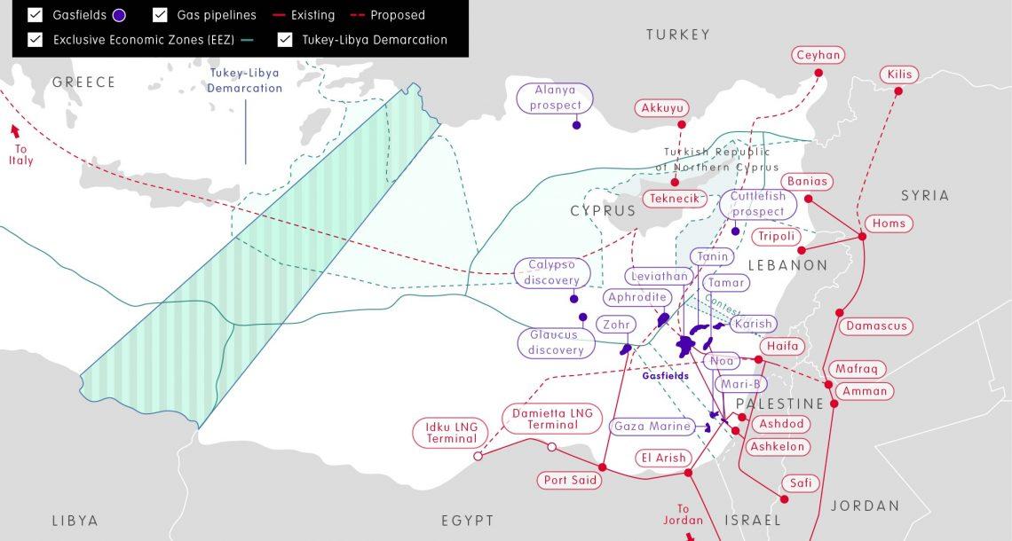 Eastern Mediterranean gas: testing the field