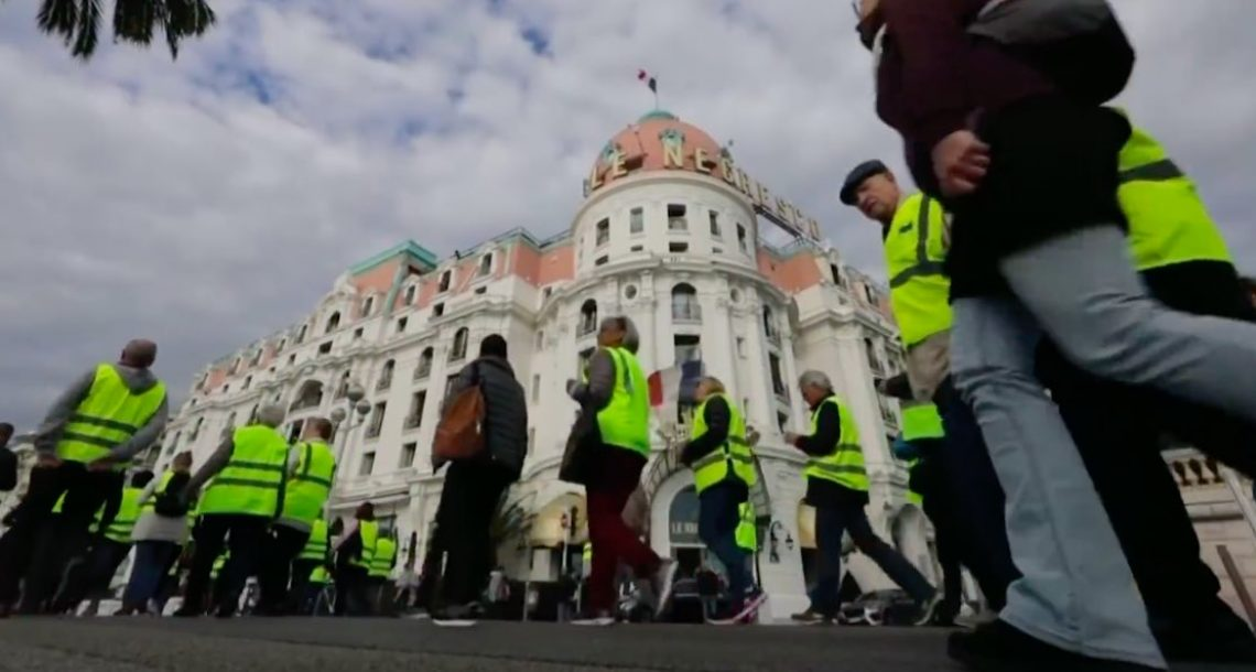 Macron fuel tax sparks protests