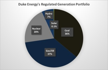 Duke Energy Regulated Generation Portfolio