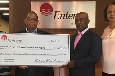 Entergy New Orleans Charity Check