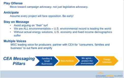 Consumer Energy Alliance Natural Gas Development and Pipeline Transportation Presentation