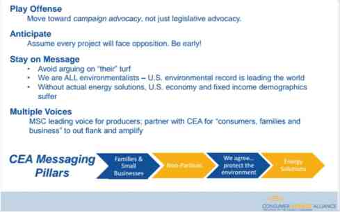 Consumer Energy Alliance Natural Gas Development and Pipeline Transportation Presentation