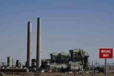 Cholla coal plant