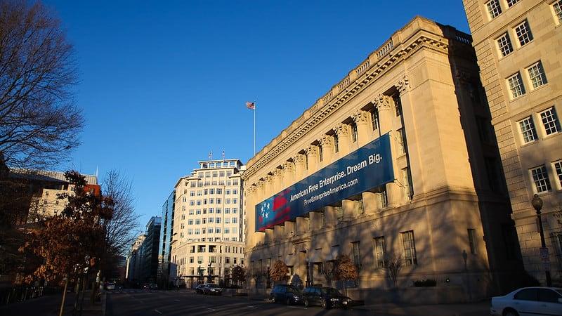 U.S. Chamber of Commerce building.