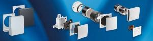 Produkter för decentraliserad ventilation