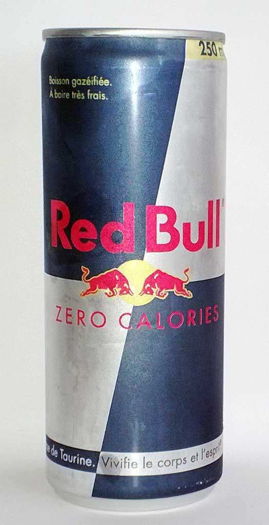 red bull zero kcal