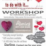 What's love got to do with it workshop for all ages in Cape Town