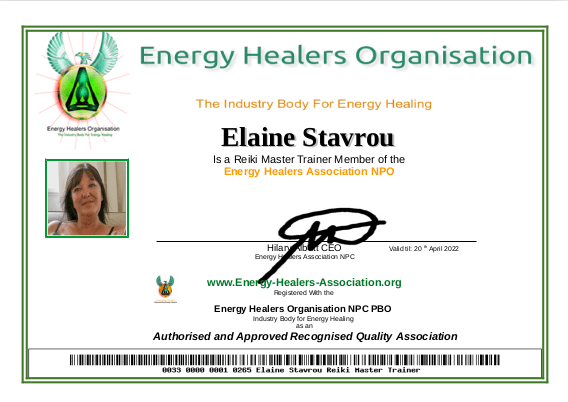 Elain Stavrou Membership 2021