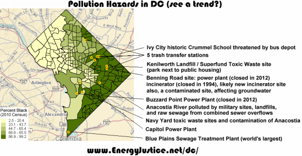 Environmental Justice in Washington, DC | Energy Justice ...