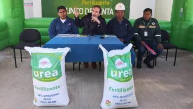 Photo of YPFB proyecta consumo de 3.100 toneladas/año de urea  en Oruro