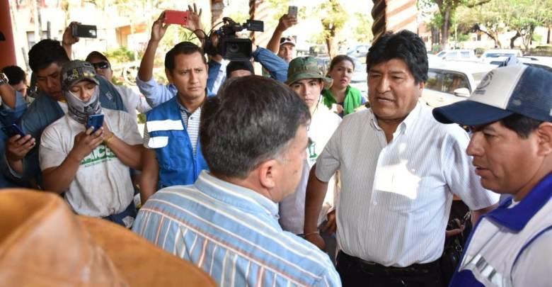 """Photo of Morales llama a preparar un """"gran programa de recuperación"""" de la Chiquitania"""