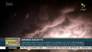 Photo of Ataques con drones destruyen la mitad de la capacidad petrolera de Arabia Saudita