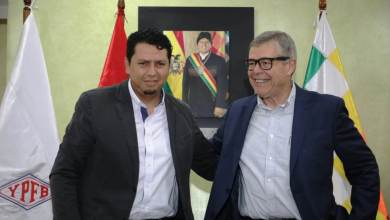 Photo of YPFB y Comgas de Brasil firman pre acuerdo por 5,5 MMmcd de gas natural