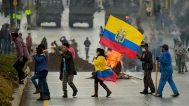 Photo of Crecen las protestas en Ecuador por la subida de precios de combustibles