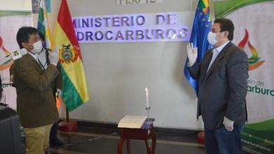 Photo of Posesionan a nuevo presidente de YPFB