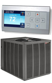 Rudd UASL Series with Comfort Control2 System™