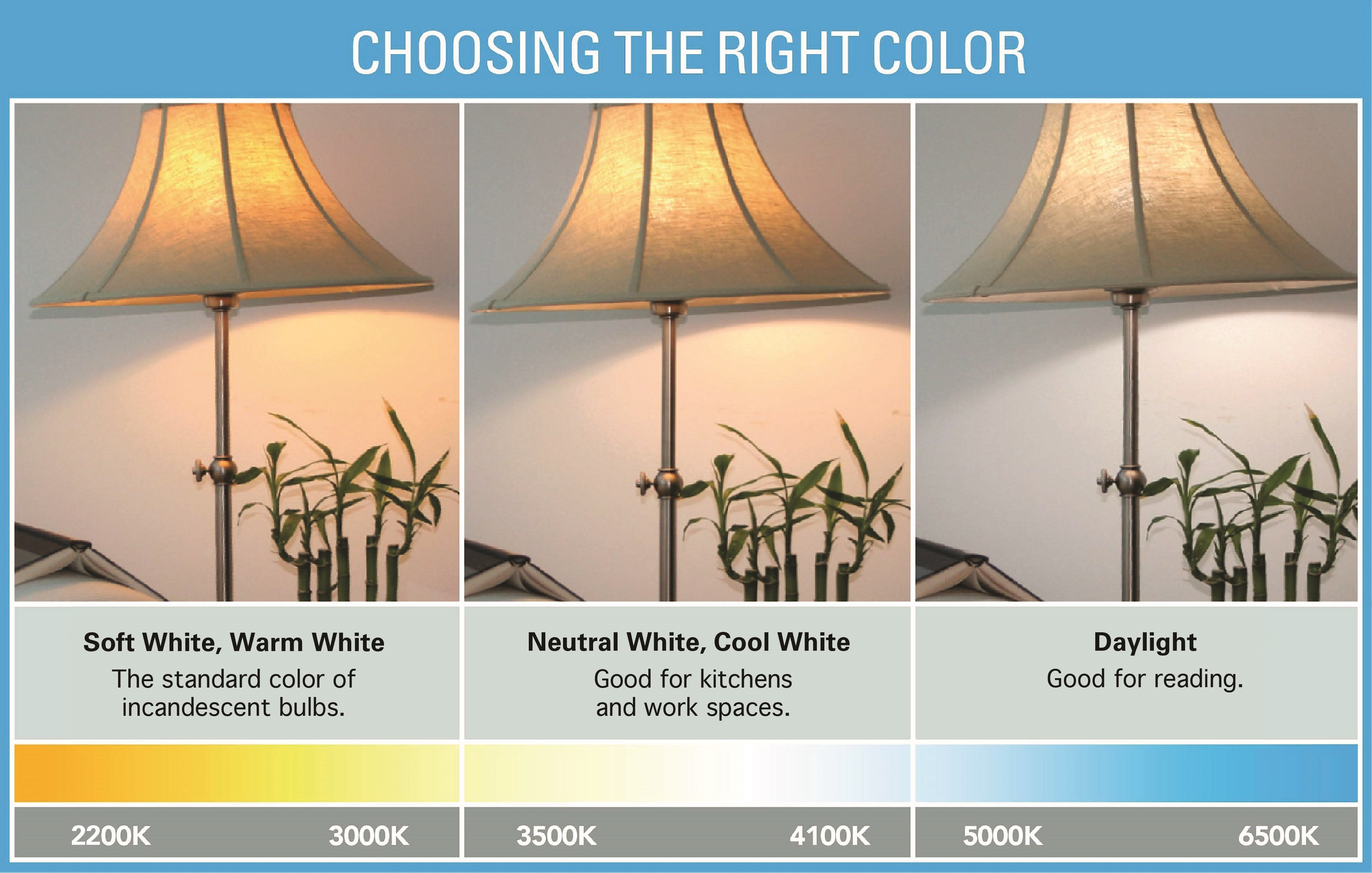 Image result for Color Temperature and Its Effect on Our Mood