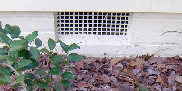 Crawl space vents bring moisture in because of higher outdoor humidity