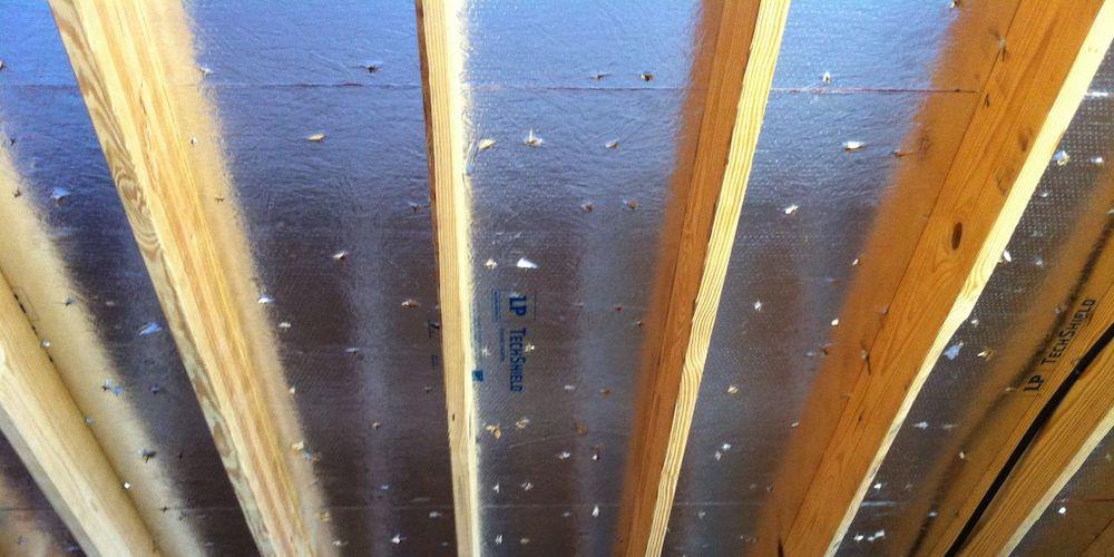 Radiant Barrier Roof Decking