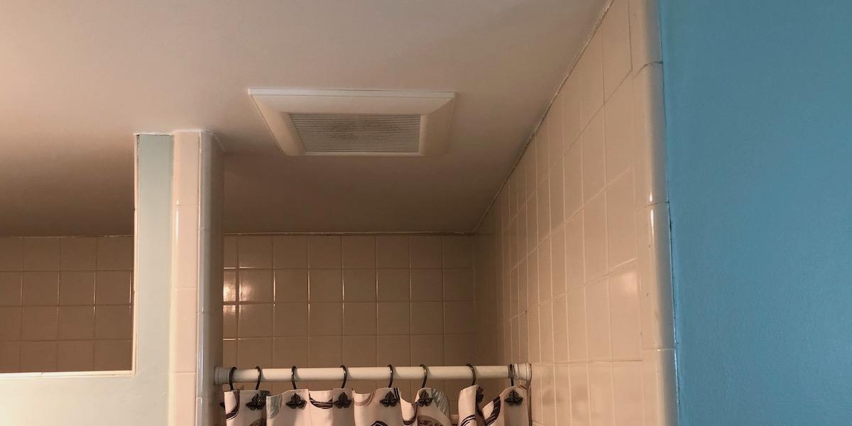Bath Fans Have Such Poor Air Flow, Bathroom Vent Fan With Heater No Light
