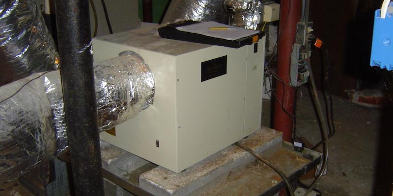 Ventilating Dehumidifier Pulling