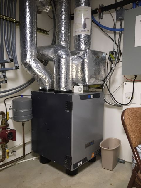 Near Net Zero Energy Home Utah Heat Revovery Ventilator Hrv