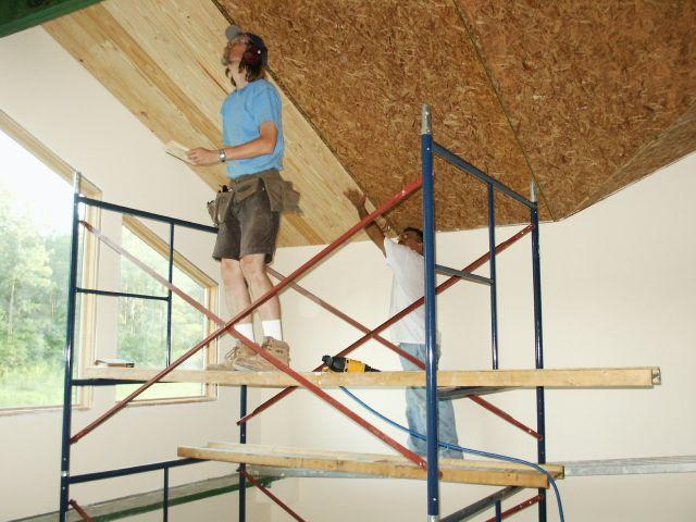 Green Home Building Scaffolding Allison Bailes Tools