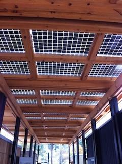 Solar Decathlon House Appalachian State University Boone Nc Bifacial Photovoltaic Modules Canopy