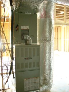 Atmospheric Combustion Furnace In Million Dollar Home