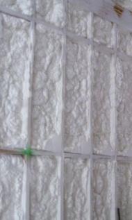 Heat Flow By Conduction Spray Foam Insulation In Wall