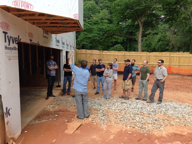 Home Energy Hers Rater Training Class Cantilever Floor
