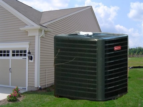 Hvac Oversized Air Conditioning System Massive Enormous Condenser