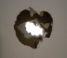 Insulation Inspection Wall Hole Drywall
