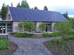 Are Photovoltaic Modules The Greenest Product? That's One Of Many Green Products In This LEED Platinum Building Maine.