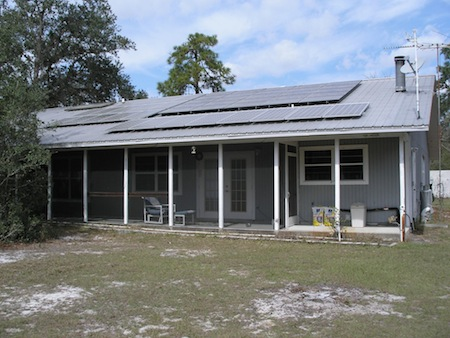 Net Zero Energy Home In Florid Solar Energy Insulation Air Sealing
