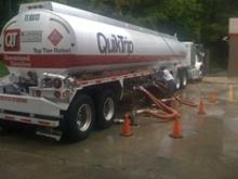 Peak Oil Gasoline Truck