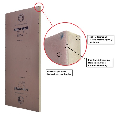 ArmorWall Plus control layers, a dream sheathing for building enclosure control freaks