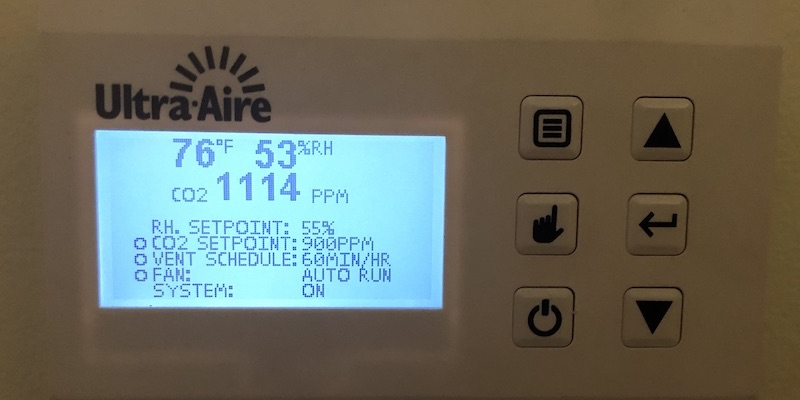 High Indoor Carbon Dioxide Levels Are An Indication Of The Need For Higher Ventilation Rates
