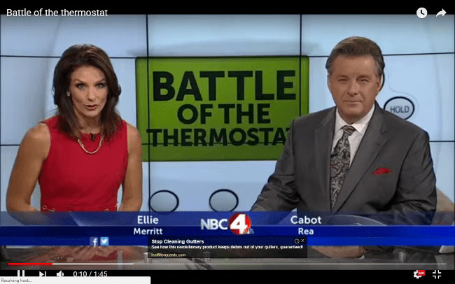 Battle Of The Thermostat Between Men And Women