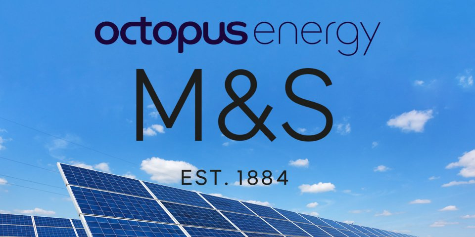 Octopus energy partners with M&S