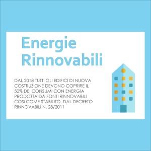 Obbligo 50% energie rinnovabili Enersistemi