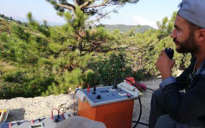 IP / Rezistivite (Özdirenç) Etüdü Transmitter Ekibi