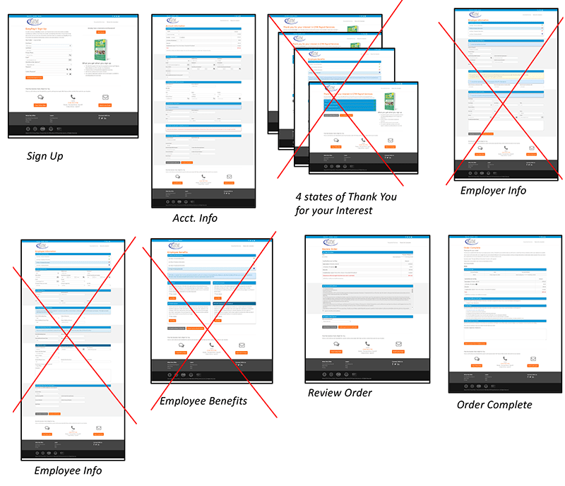 pages were removed