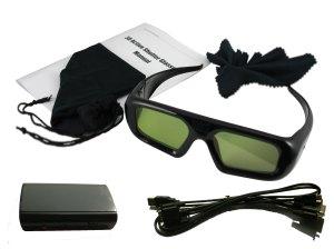 Set de gafas activas
