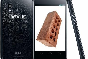 nexus 4 brick red light