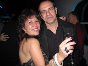 Cristina Manzano de Squash Gang junto a Stephanelli